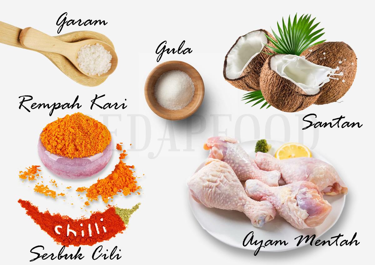 Resepi Cara Masak Kari Ayam Kentang Dengan Santan