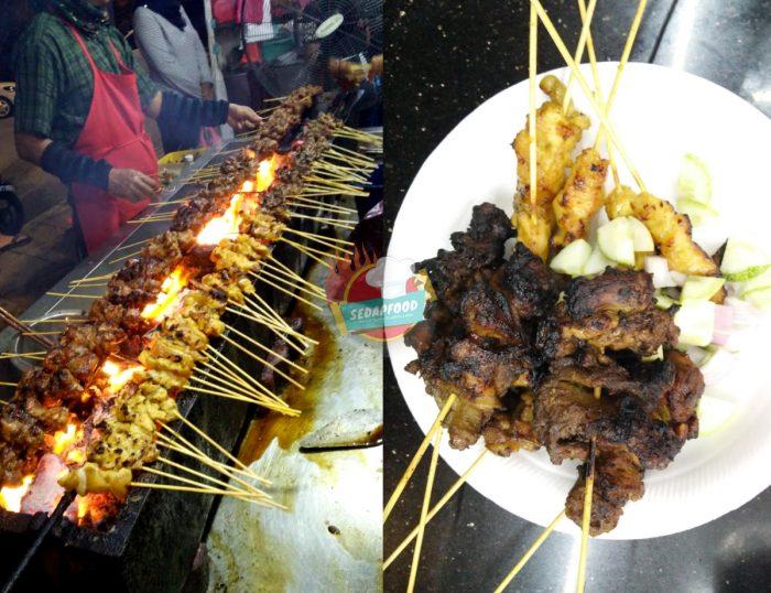 Lokasi Satay Tulang Senawang, Sate Ayam Bahagian Tulang