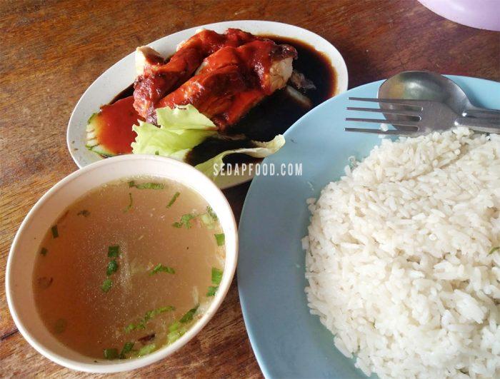 Selera Mengidam Makan Nasi Ayam Juragan Sungai Serdang