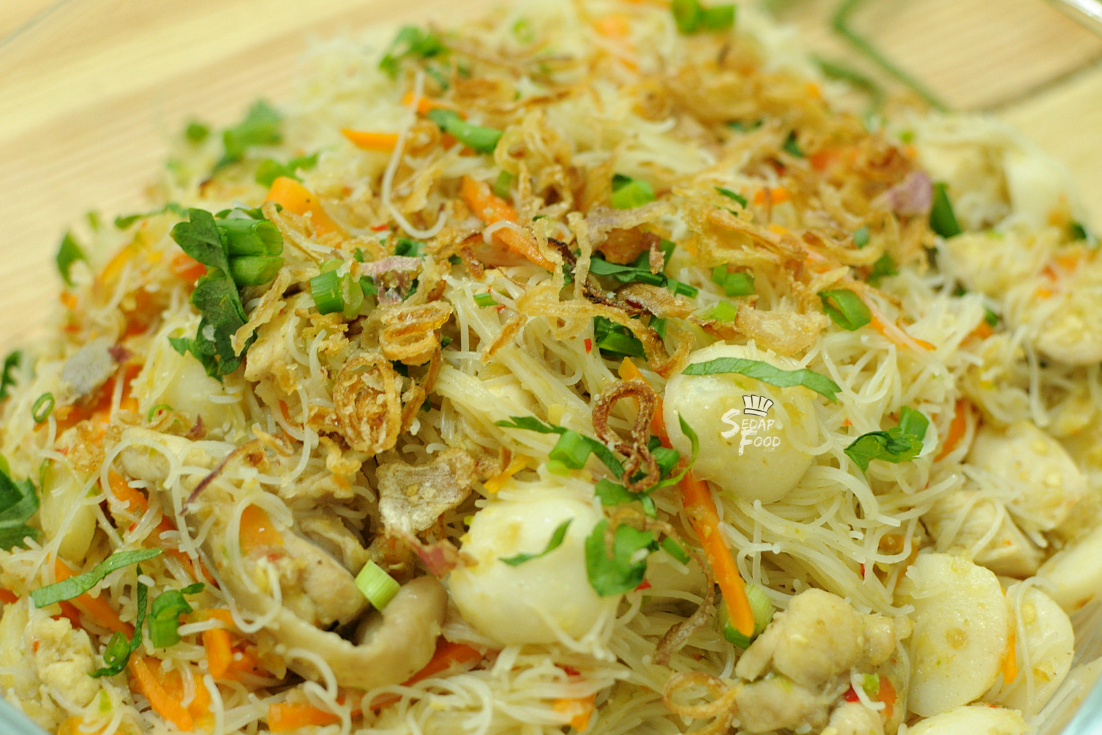 Resep Bihun Goreng Putih Singapore Sedap Simple